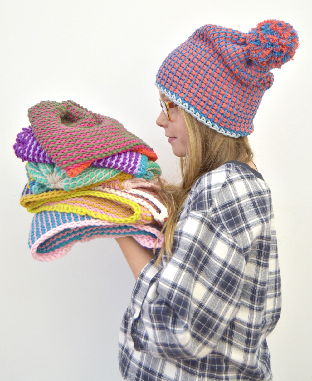 Tunisian Crochet Hats Byclaire Crochet Patterns Books And Yarn