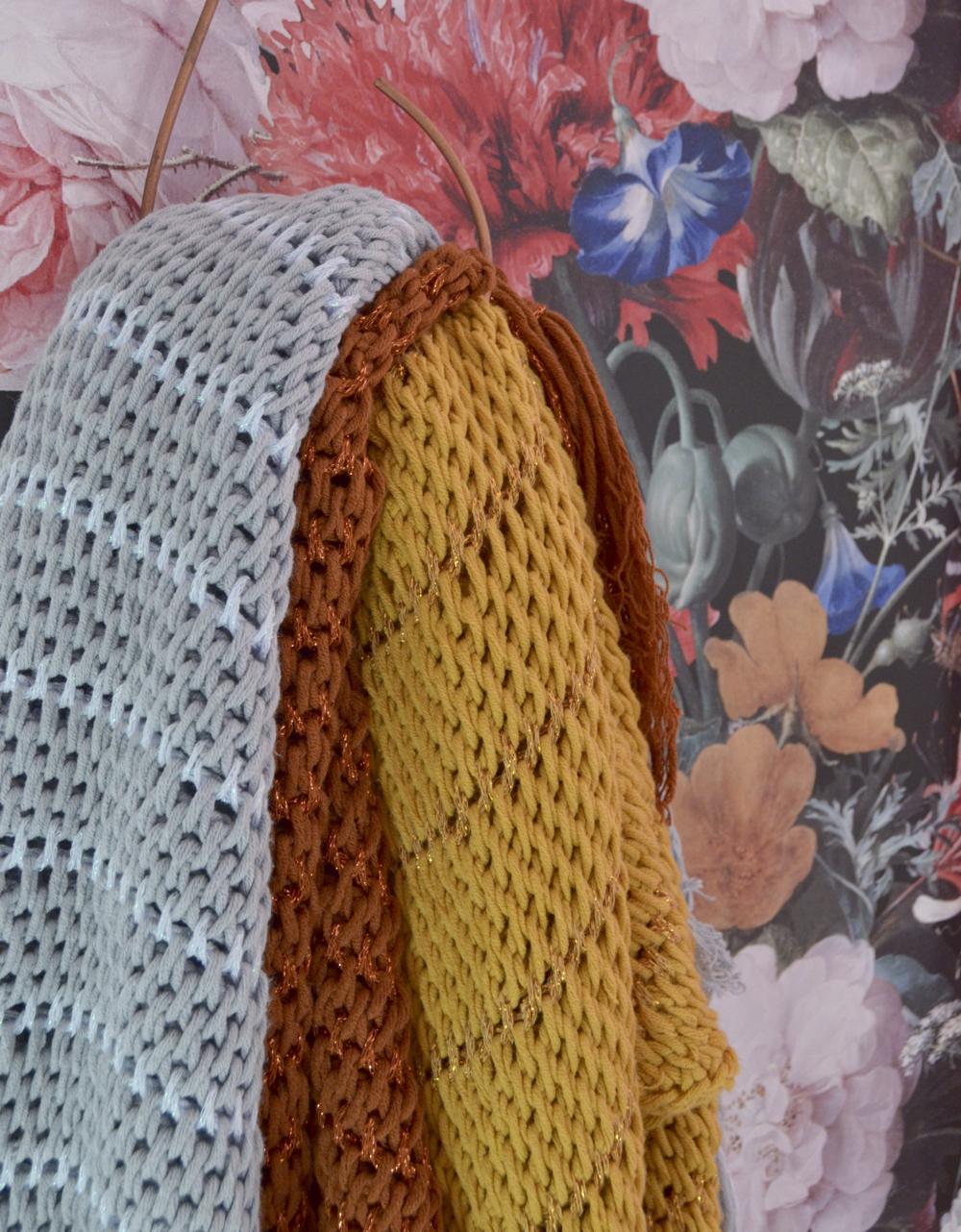 Tunisch Gehaakte Sjaal Met Een Sparkle Byclaire