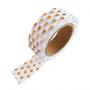 Washi_tape_koperen_stippen