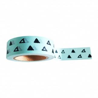 Washi_tape_mint_driehoek
