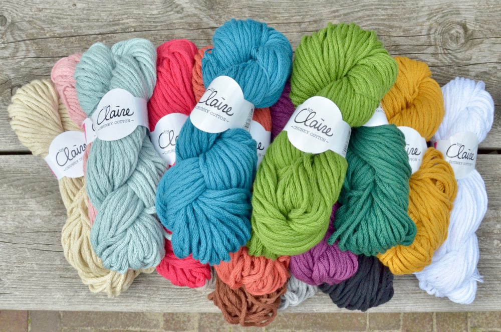 Nieuw Garen Byclaire Chunky Cotton Byclaire Haakpatronen