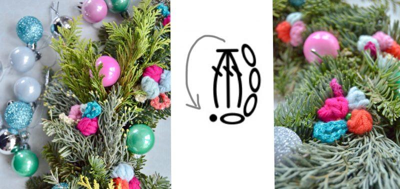 Byclaire Kerstkrans 2017 Byclaire Haakpatronen Haakboeken